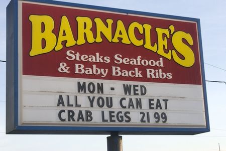 Daytona Beach Restaurant Reviews – Barnacles