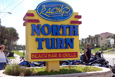 Daytona Beach Restaurant – Racing's North Turn…..