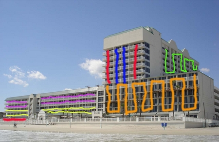 Daytona Beach Resort — Balconies