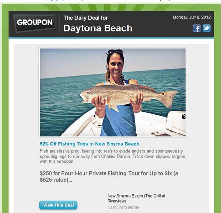 Daytona Beach Groupon Deals !!!