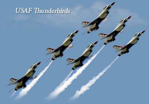 USAF Thunderbirds - Daytona Beach Air Show