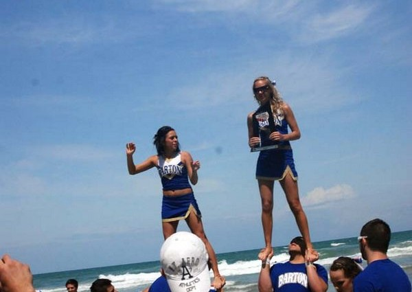 NCAA Daytona  – Trophies on the Beach