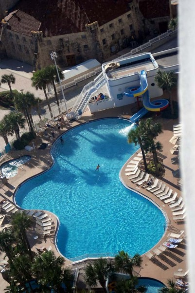 Ocean Walk Resort Pool with Slide