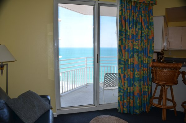 Ocean walk 18th floor 2 bedroom 2 bath for 18th floor balcony cover