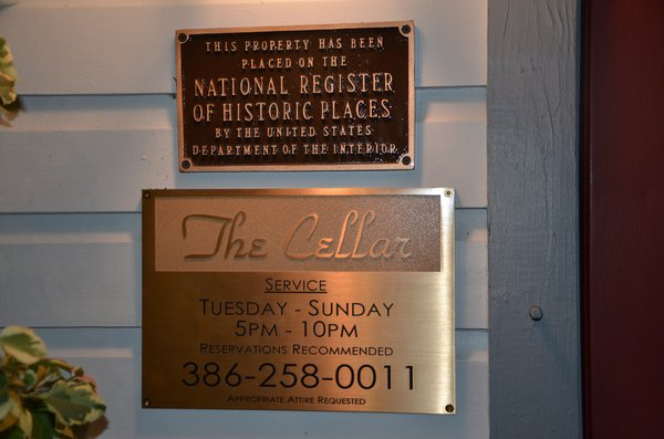 Daytona Beach – The Cellar Restaurant