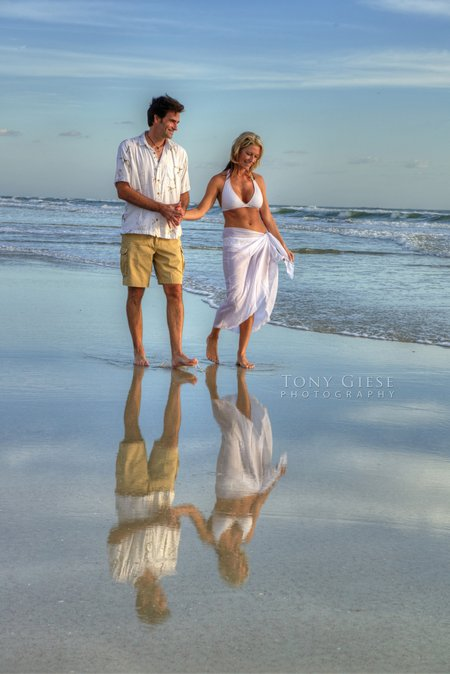 Portraits on the Beach by Tony Giese