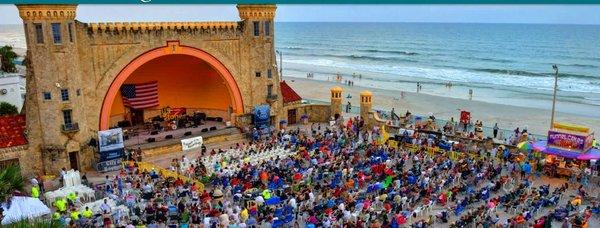 2019 Daytona Bandshell Concert Schedule !!